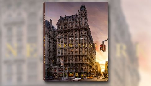 © New York by Serge Ramelli, to be published by teNeues in March 2019, € 39,90, www.teneues.com, The Upper West Side at sunset, Photo © Serge Ramelli