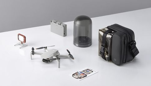 "Die ""DJI Mini 2 Fly More Combo"""