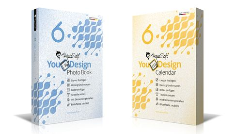 YouDesign Photo Book und YouDesign Calendar von AquaSoft liegen nun in der neuen Version 6 vor