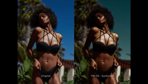 "Editorial Color Grading Style ""Sunkissed"" von Marie Bärsch"