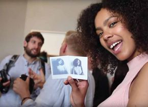 Launch-Event zur Fujifilm instax SQUARE SQ10 (Screenshot aus Event-Video).