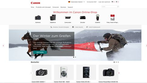 Canon Online-Store