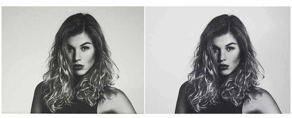Dank Profilierung von Monitor und Papier lassen sich schwierige Schwarz-Weiß-Bilder korrekt darstellen und auf Papier ausgeben.