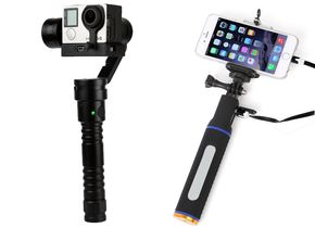 Polaroid Gimbal und Power Handgrip