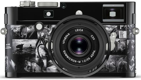 "Leica M Monochrom in Sonderedition ""Signature"" by Andy Summers"