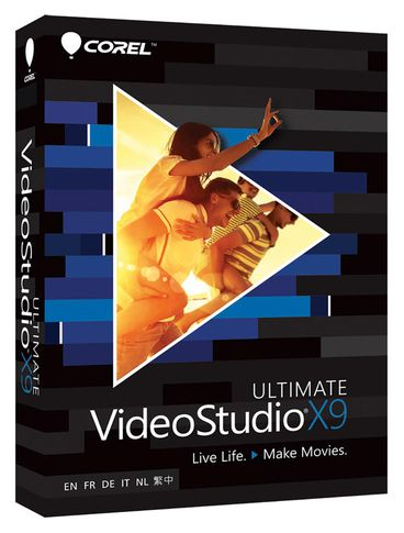 Corel VideoStudio X9 - Box