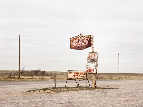 Roger Eberhard, 100th Meridian, USA, 2018, 180 × 140 cm (also available in 90 × 70 cm), Archival Pigment Print, Ed. of 3 + 1 AP's (5 + 1 AP's)