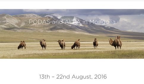 PODAS/Alpa-Workshop in der Mongolei vom 13. bis 22. August 2016