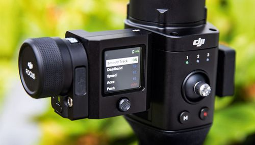 Fokusmotor, Schärfe-Controller und GPS für Ronin-S