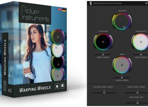 Erhältlich für Adobe Premiere CC, After Effects CC und Apple Final Cut Pro X: Picture Instruments Warping Wheels
