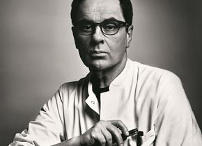 Gerhard Steidl. Copyright: © Markus Jans. Outstanding Contribution to Photography, 2020 Sony World Photography Awards