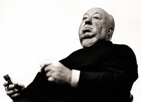 Greg Gorman, Alfred Hitchcock, Los Angeles, 1970 © Greg Gorman