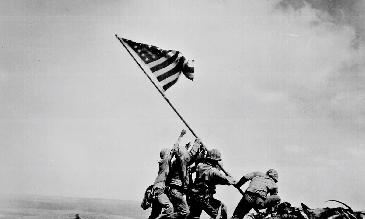 Briefe Von Iwo Jima : Joe rosenthal iwo jima foto hits magazin