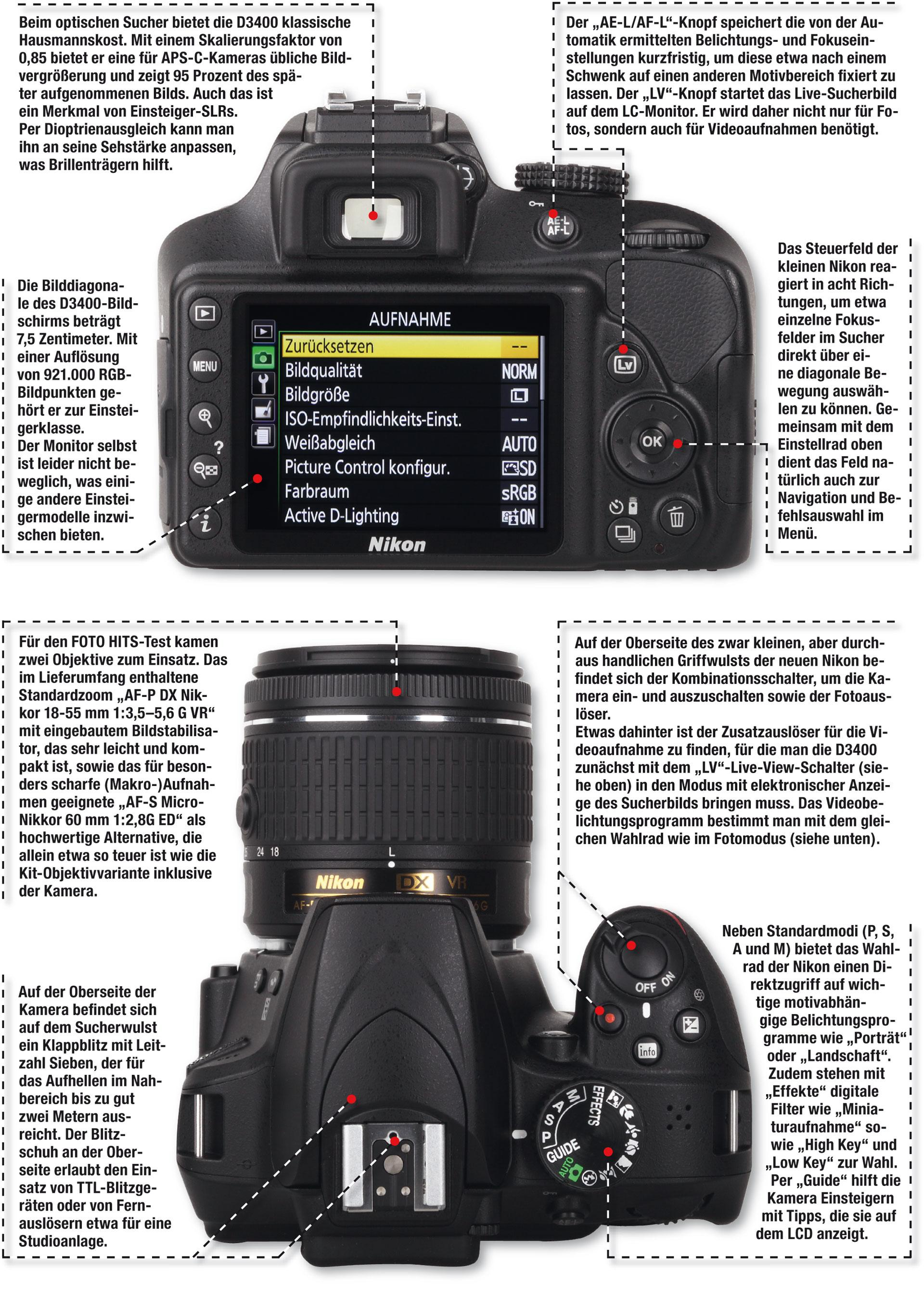 Kameratest Nikon D3400 | FOTO HITS Magazin