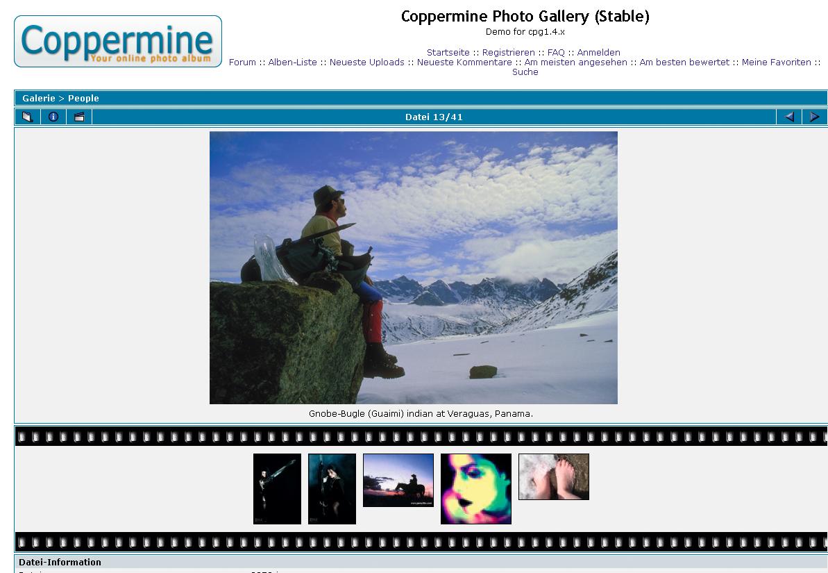 software coppermine foto hits magazin. Black Bedroom Furniture Sets. Home Design Ideas