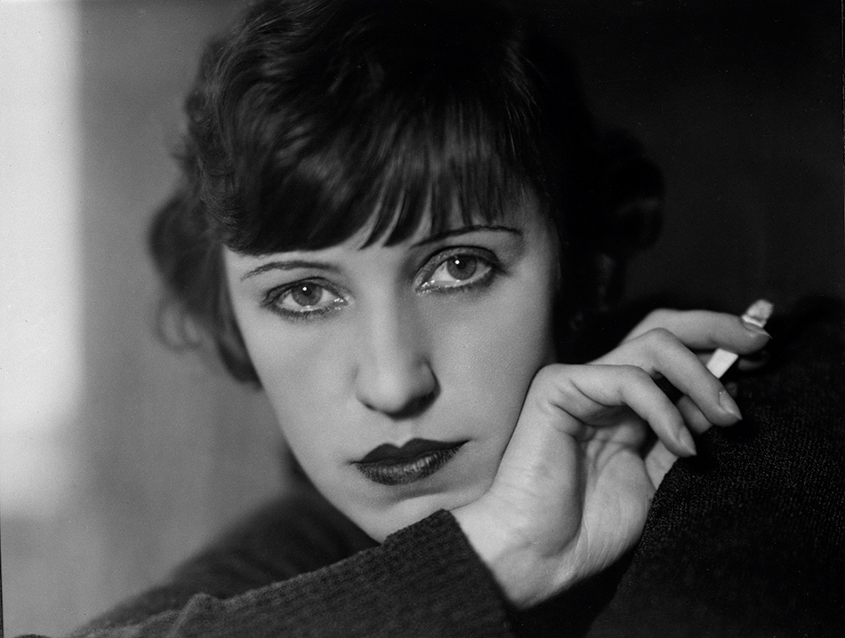 Lotte Jacobi: Schauspielerin Lotte Lenya, Berlin, 1928 © The University of New Hampshire, 2019.