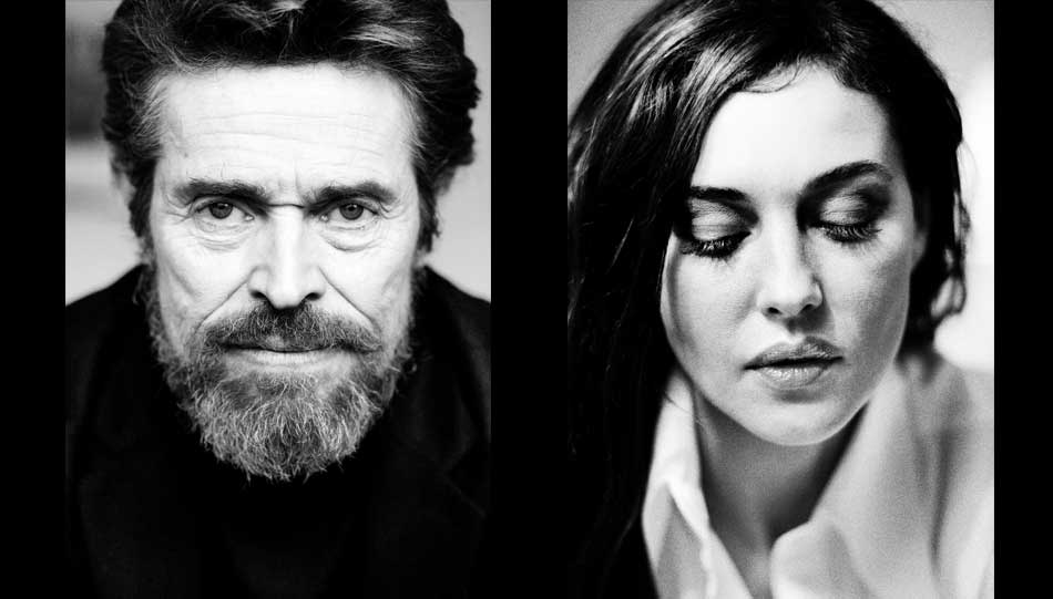 Willem Dafoe - Monica Bellucci - Fotos: Birgit Kleber