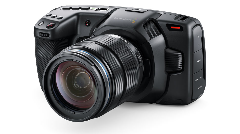 Nach dem Firmware-Update auf Version 6.2 zeichne die Blackmagic Design Pocket Cinema Camera 4K auch Blackmagic-RAW auf.