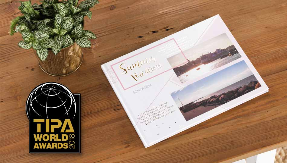 "CEWE: TIPA World Award 2018 für ""Best Photo Print Service"""