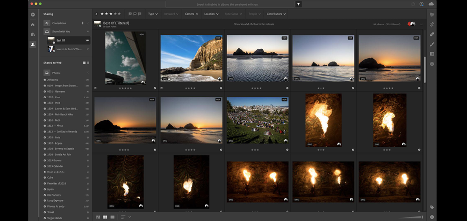 Das aktuelle Lightroom Update