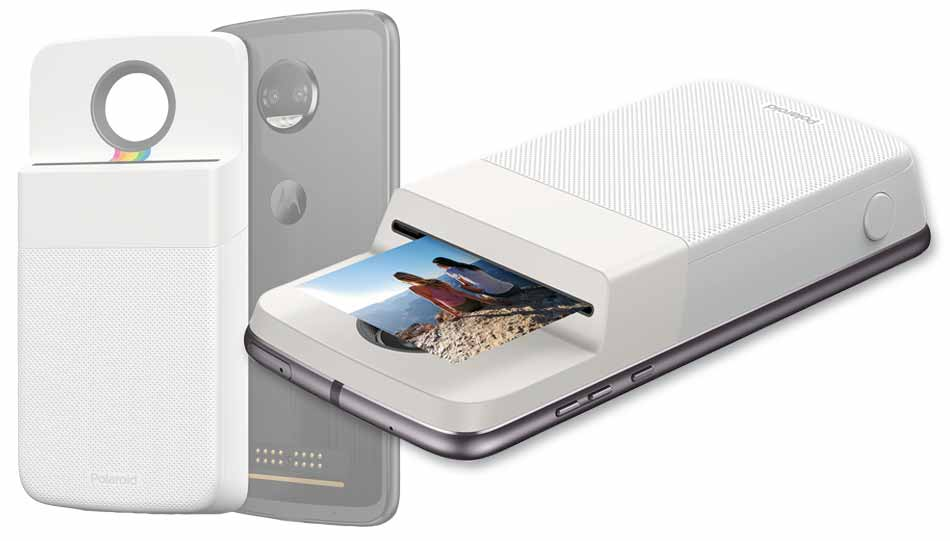 "Motorola Z - moto mod ""Polaroid Insta-Share Printer"""