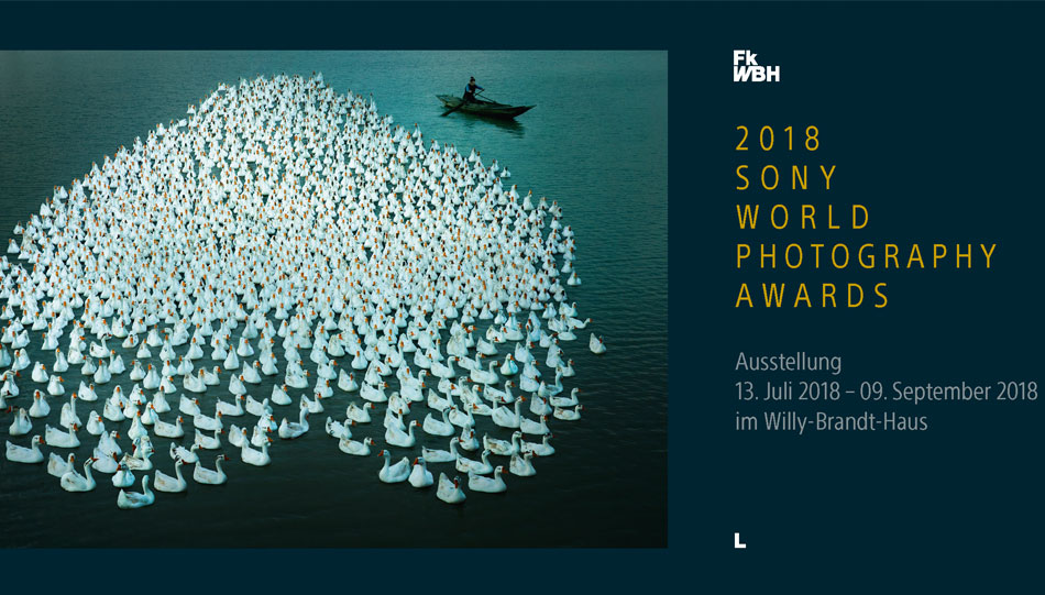 Sony World Photography Awards 2018 - Ausstellung im Willy-Brandt-Haus in Berlin