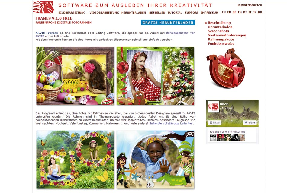 "Neues Motivpaket für ""Akvis Frames"" | FOTO HITS News"