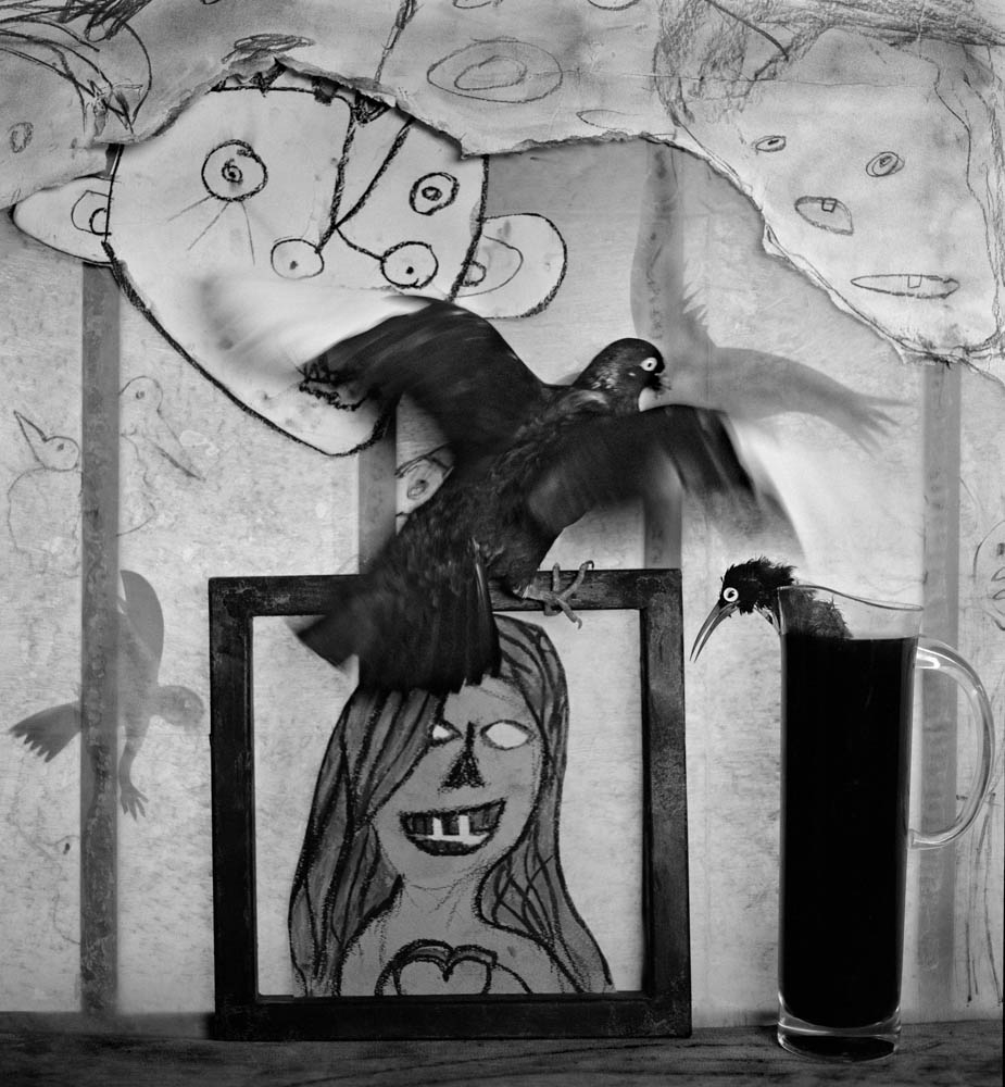 Roger Ballen. Window Shelf