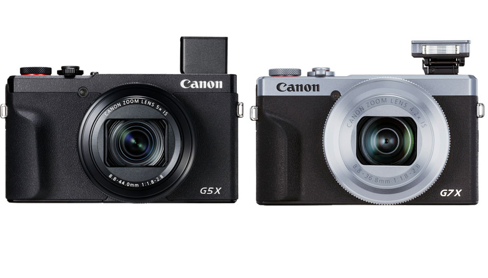 Canon G5 X Mark II (links) und Canon G7 X Mark III