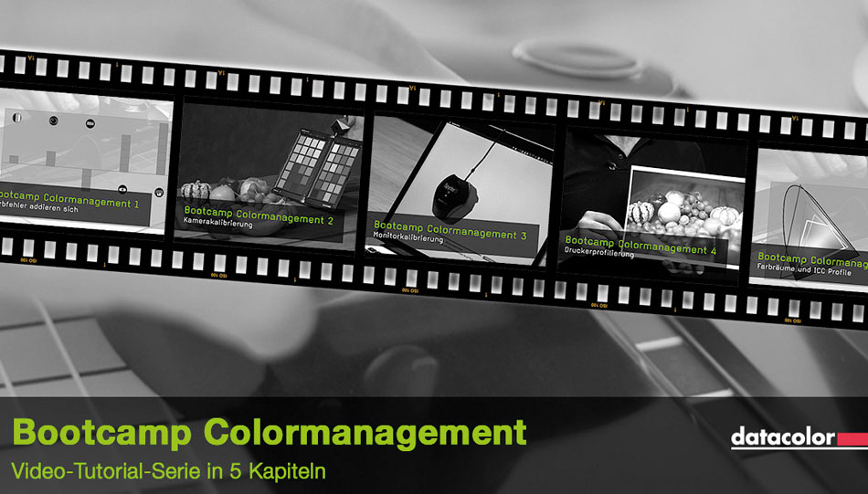Colormanagement Bootcamp von Datacolor und FotoTV.