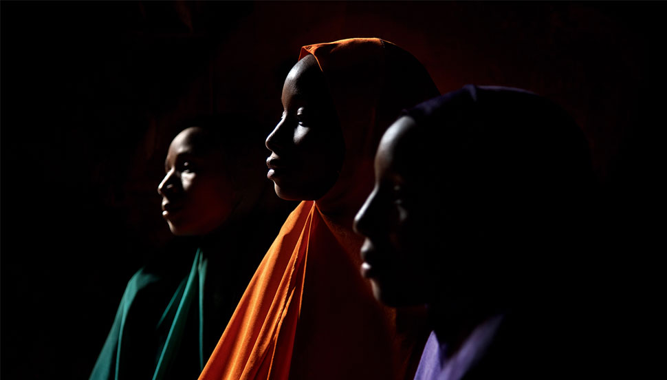 Nigerian Child brides Yagana, Yakaka and Falimata - © Stephanie Sinclair 2016