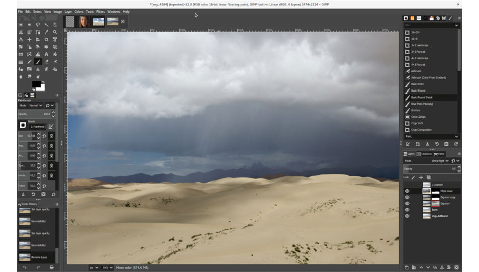 Gimp: Neue Version 2.10