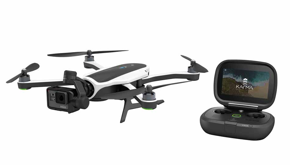 GoPro Karma: Multikopter mit Hero-5-Black-Action-Kamera
