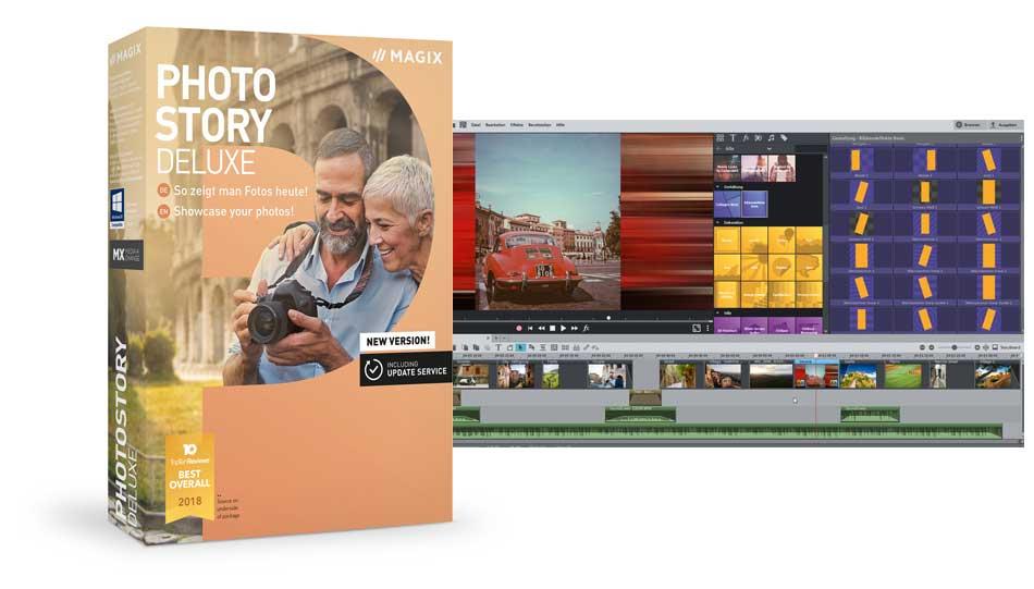 Magix Photostory Deluxe 2019 vorgestellt   FOTO HITS News