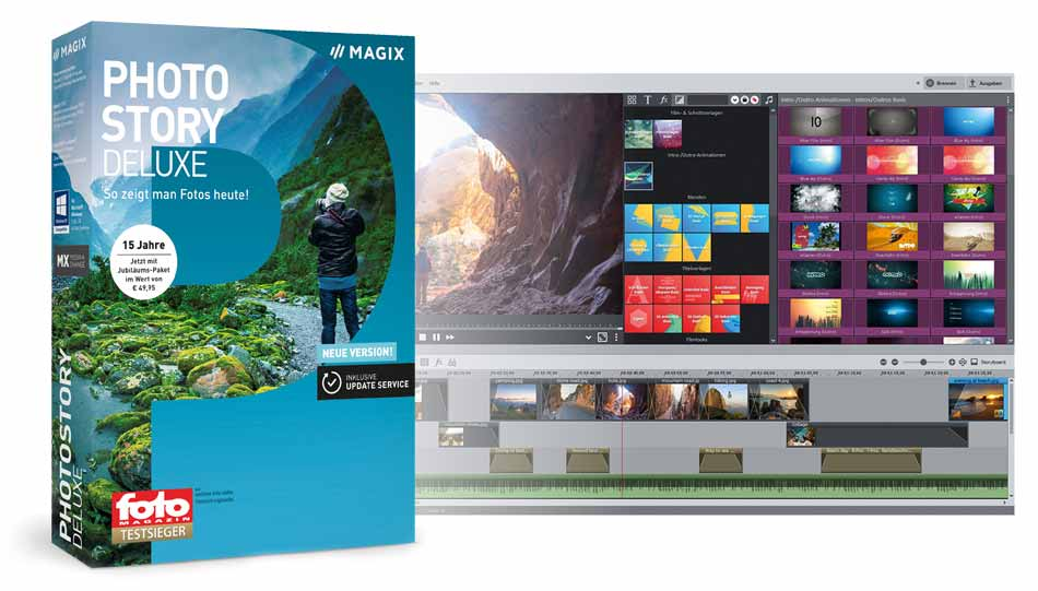Magix Photostory Deluxe   FOTO HITS News