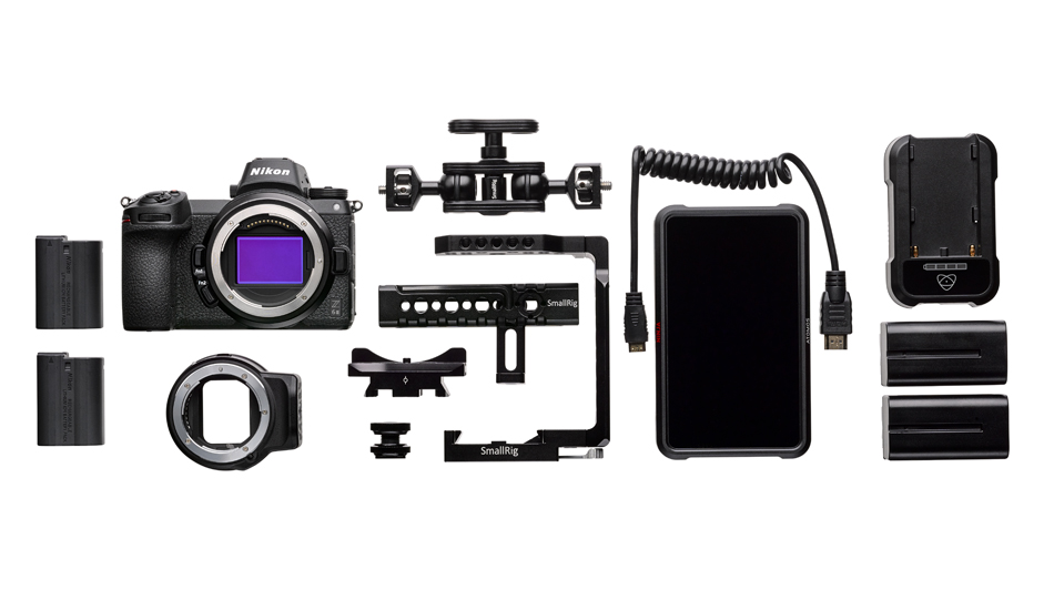 Umfangreich: das Z 6II Essential Movie Kit