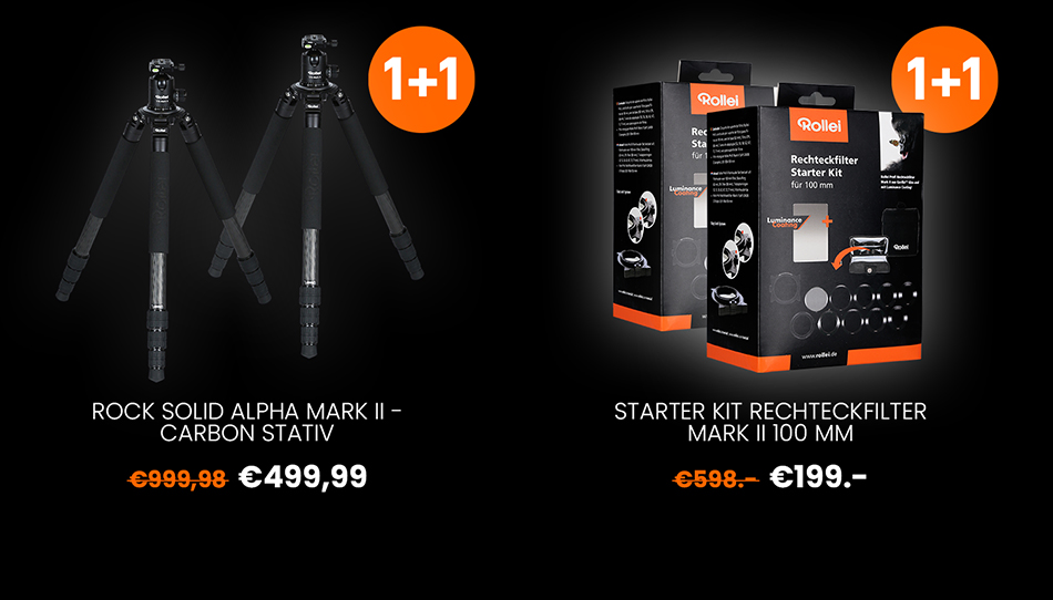 Rollei 1+1 Halloween-Deals