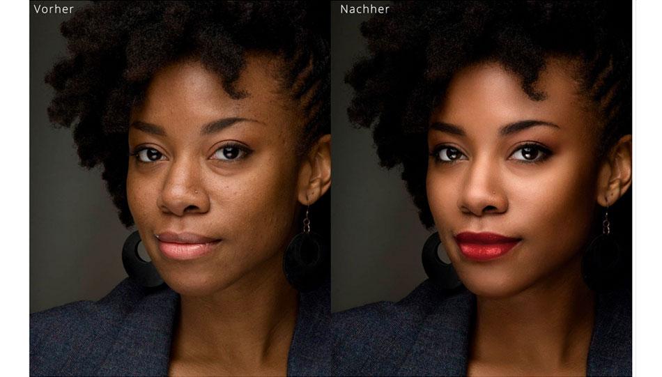 Portrait Pro Optimierte Schönheit Foto Hits News