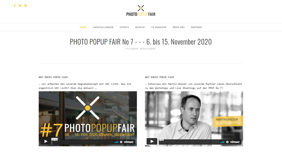 Photo Popup Fair in Düsseldorf