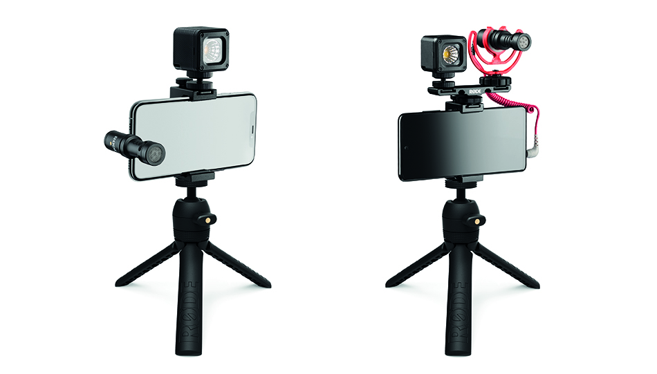 Links: Vlogger Kit iOS, rechts: Vlogger Kit Universal