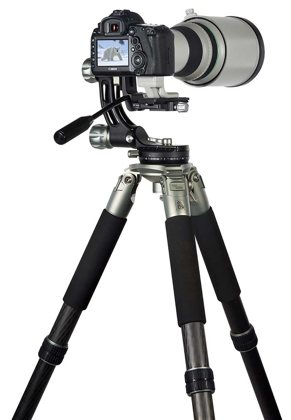 Lion Rock Mark II Stativ mit Gimbal