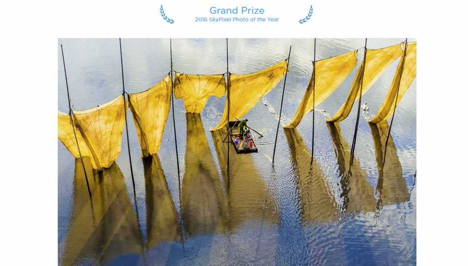 Gewinner des Skypixel Photo Contest