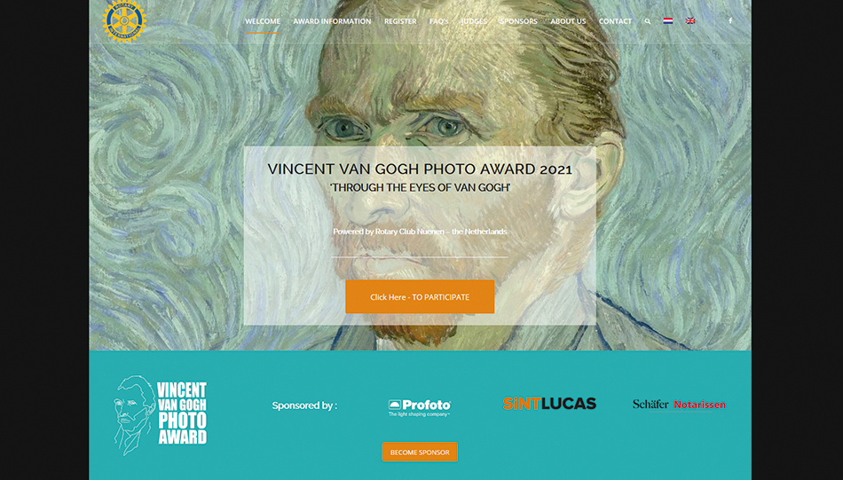 Vincent van Gogh Photo Award 2021
